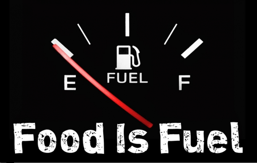 Food is Fuel - Fuel Powers our Car – Food powers our Body!